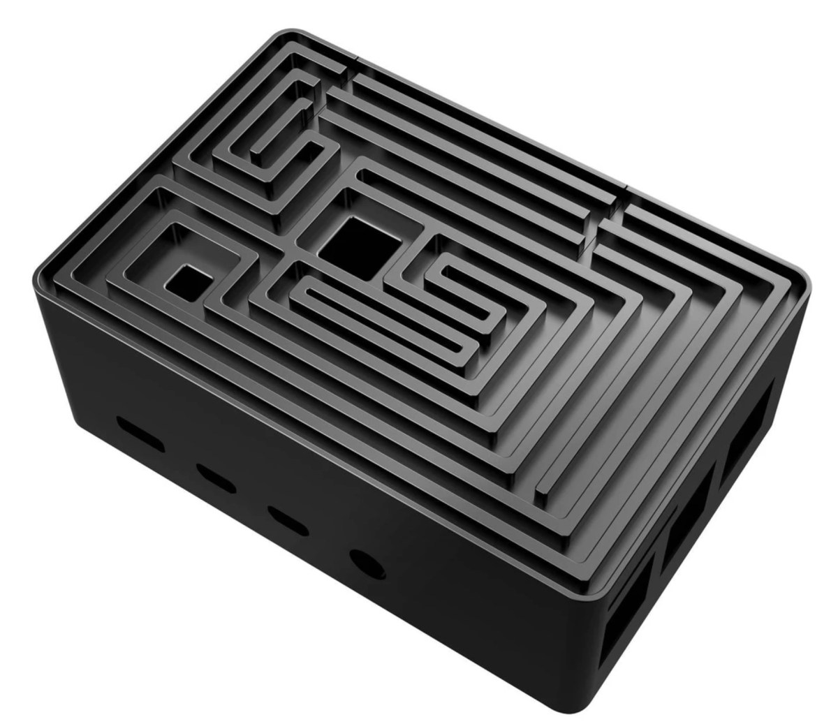 Raspberry Pi case with a 3D maze on it   Boing Boing