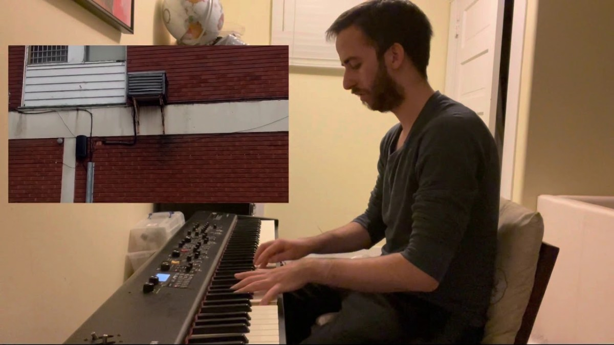 Watch a composer transform the sounds of a broken air conditioner into a cool new jazz song | Boing Boing