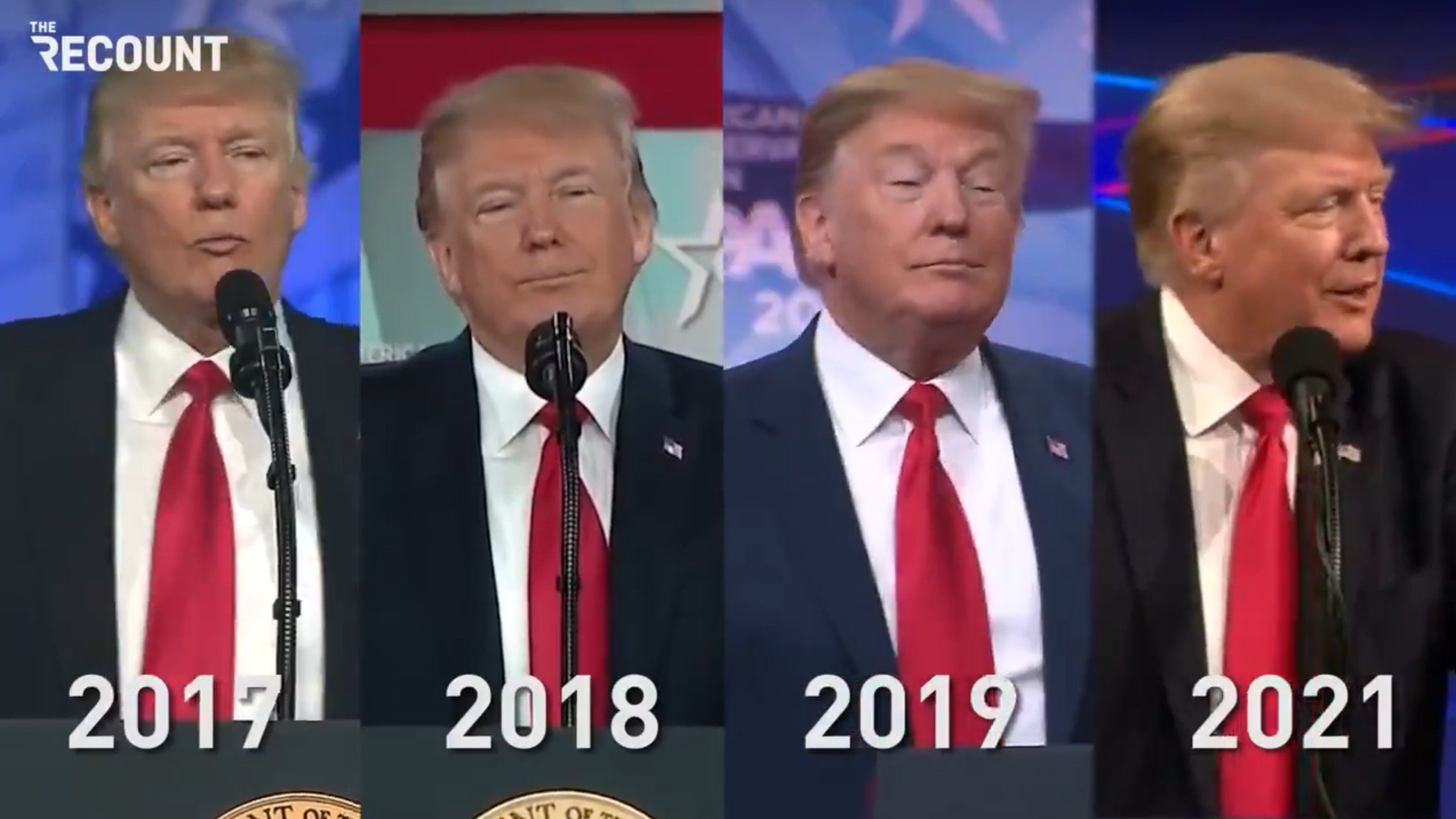 """Watch: Every year since 2017, Trump has led his CPAC crowd in chanting """"lock her up"""""""