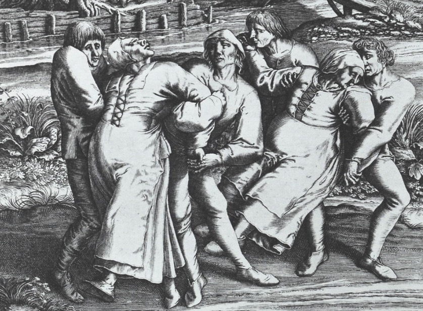 In 1518 a large group of people suddenly started dancing and couldn't stop until they dropped or died | Boing Boing