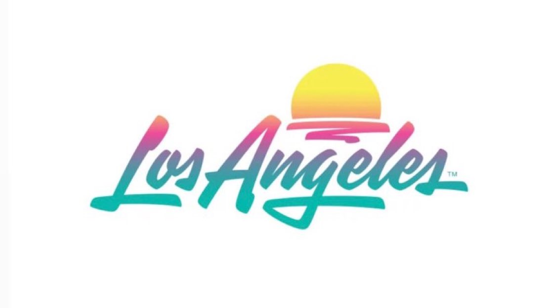 Los Angeles' new tourism logo   Boing Boing