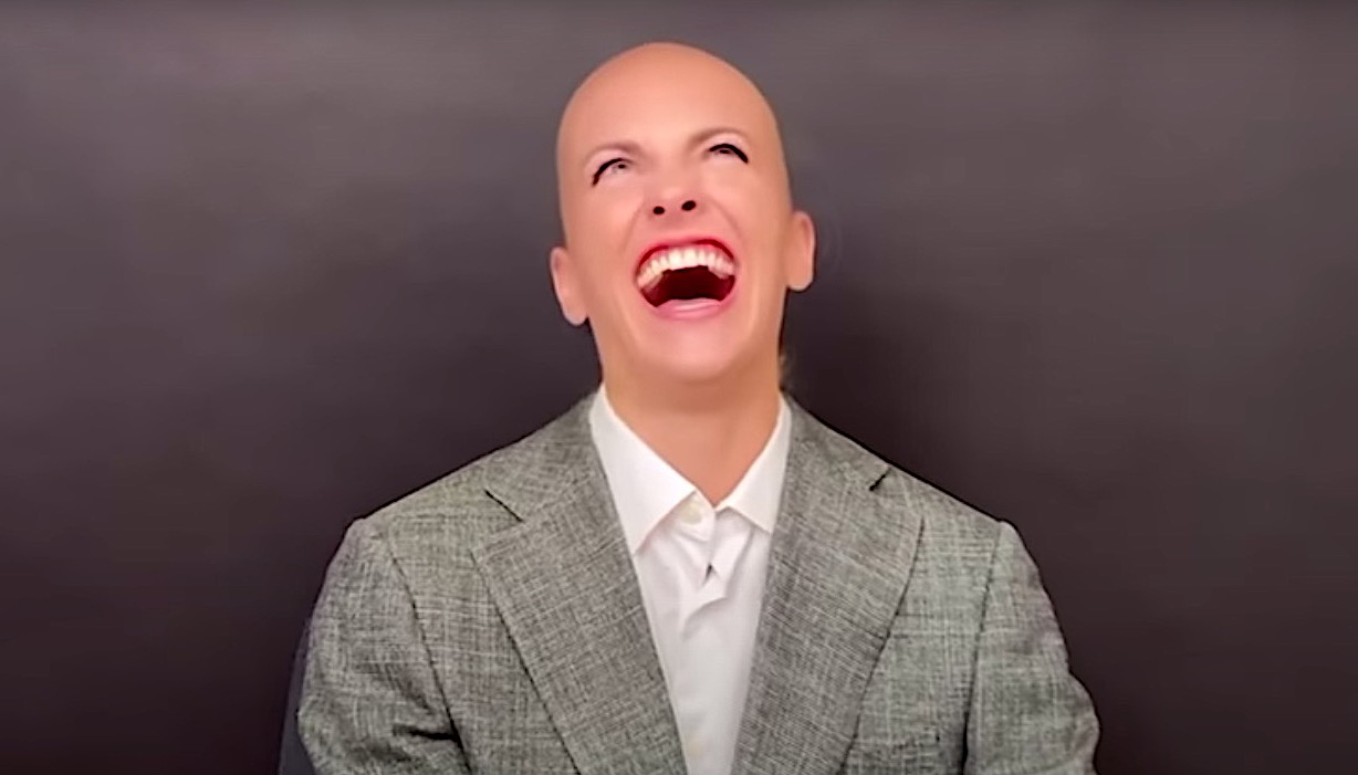 A maniacal Bezos plots for world dominance with vulva-shaped space station in hilarious new sketch