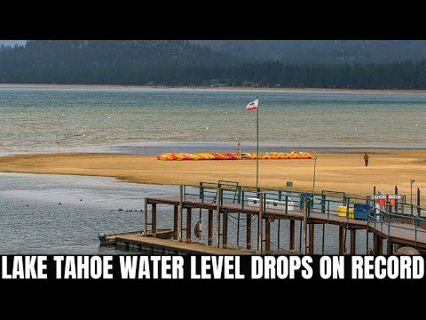 As California's Lake Tahoe dries up, it leaves a smelly, muddy mess | Boing Boing