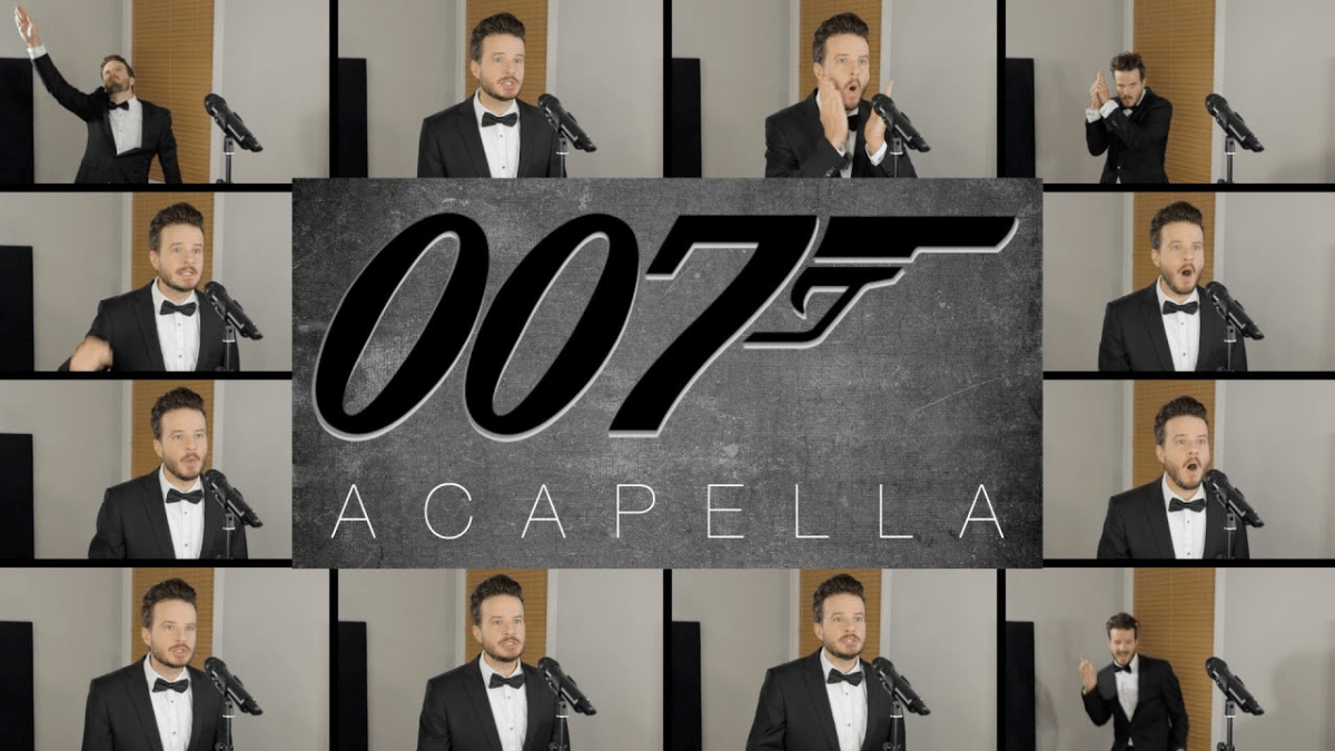 A cappella version of the James Bond theme performed by one guy | Boing Boing