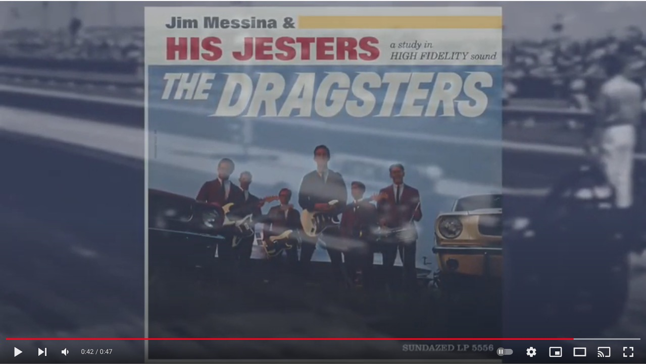 """Jimmy Messina and His Jesters' """"The Dragsters"""""""