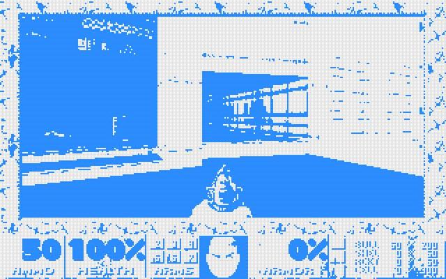 Doom rendered as checkboxes