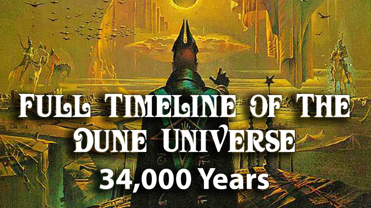 The entire 34,000-year DUNE timeline explained in one 10-minute video