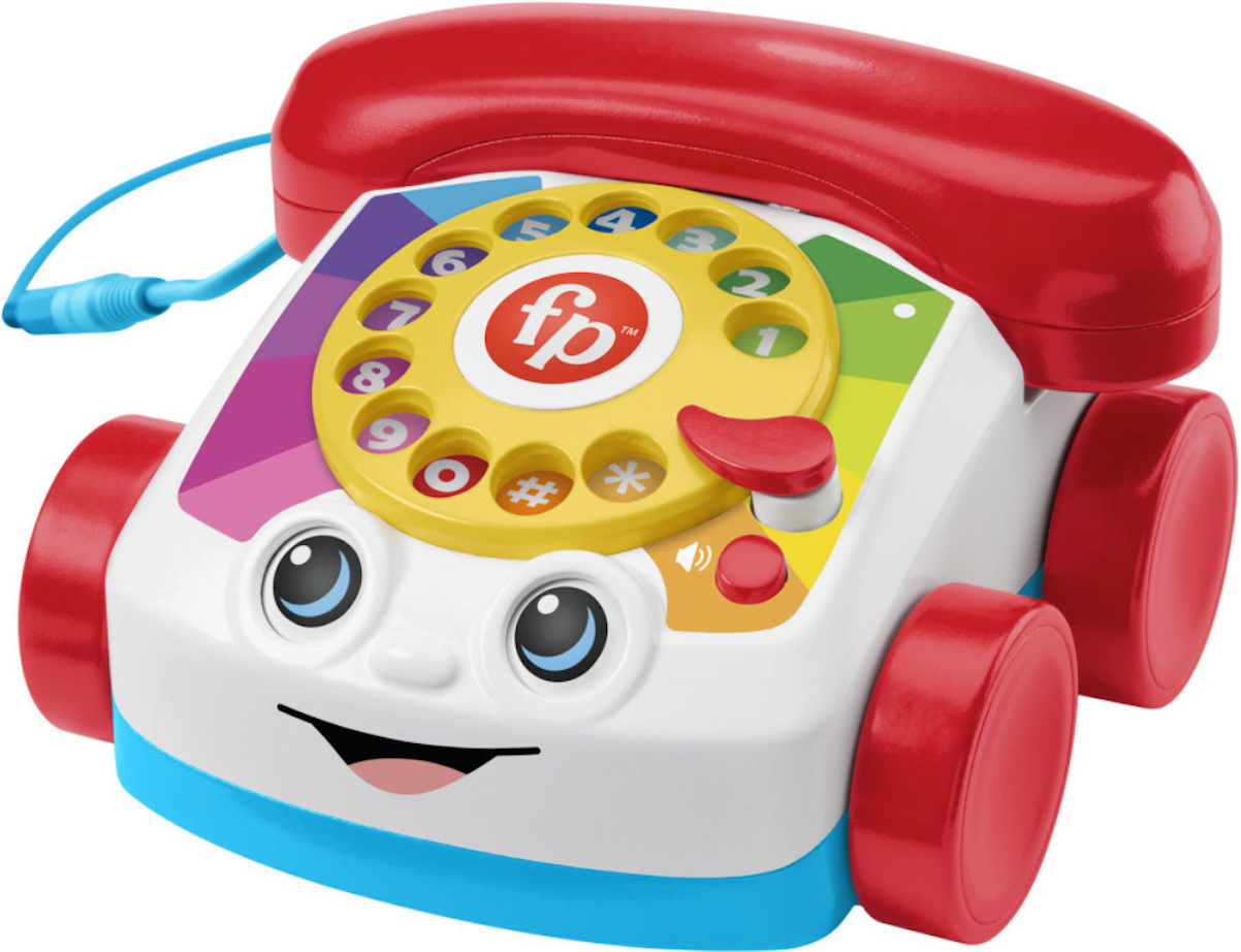 Fisher-Price's iconic toy telephone can now make phone calls