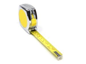 mètre ruban : fait parti des premiers outils quand on débute le bricolage