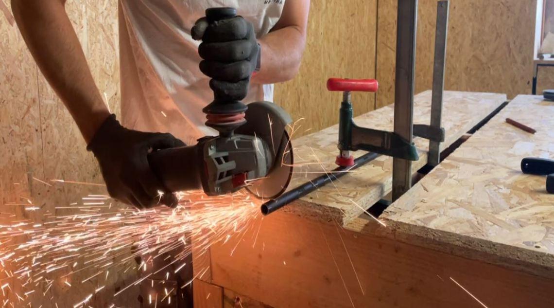 Comment utiliser une meuleuse d'angle