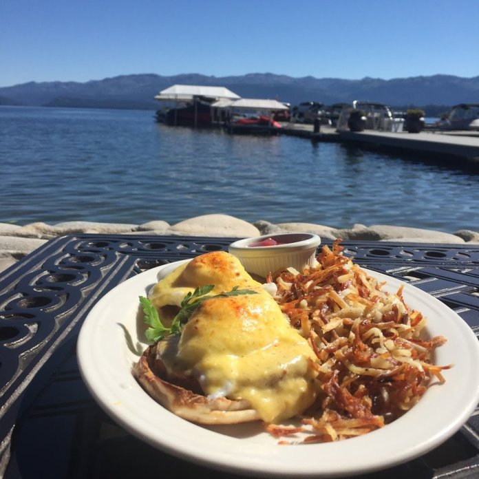 A summer meal at The Narrows at Shore Lodge. Yes, it was delicious.