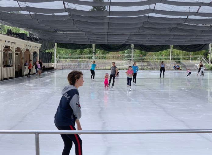 Sun Valley Resort skating rink