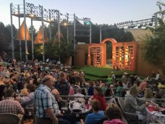 Idaho Shakespeare Festival amphitheater