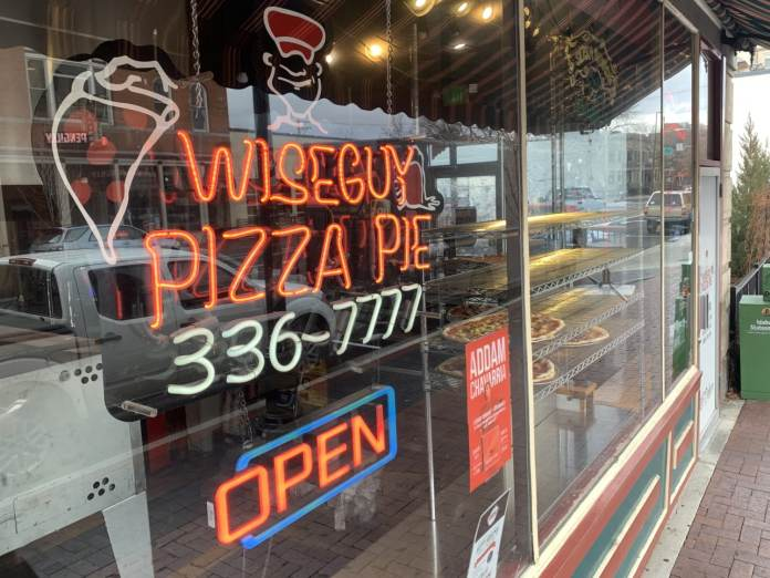 Wise Guy Pizza Boise Ave.