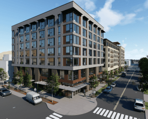 Rendering of 6th and Grove
