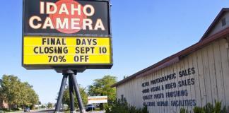 Idaho Camera closure