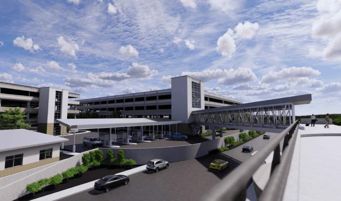 Boise Airport garage