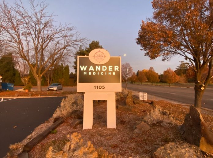 Wander Medicine located on Boise Bench
