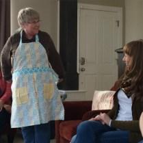 Nancy's new apron