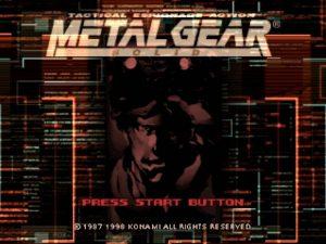 Test rétro : Metal Gear Solid (1999 PS1)