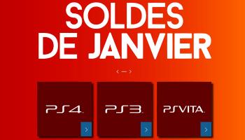 Les soldes de Janvier sur le PS Store sont là!