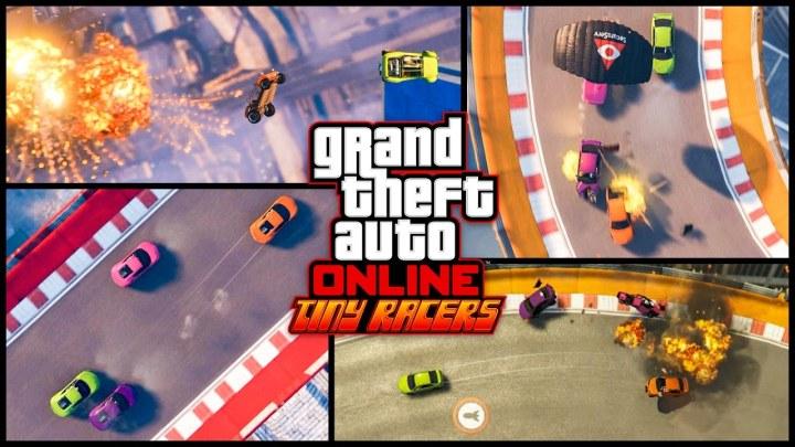 DLC gratuit GTA V : Tiny Racers