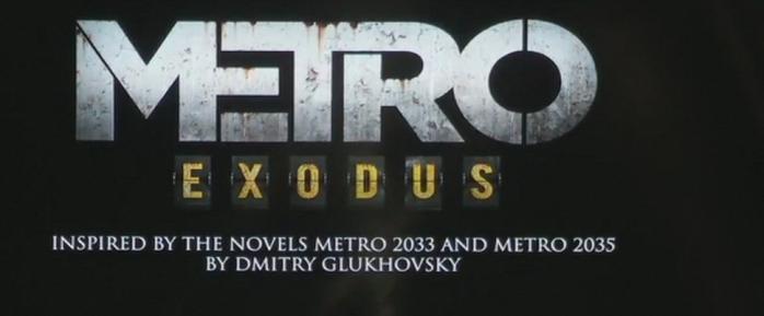 Metro Exodus annoncé sur Xbox One X :