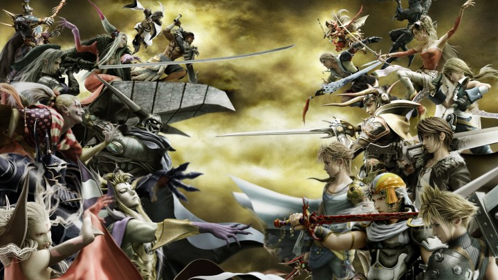 Final Fantasy Dissidia : Une close Bêta