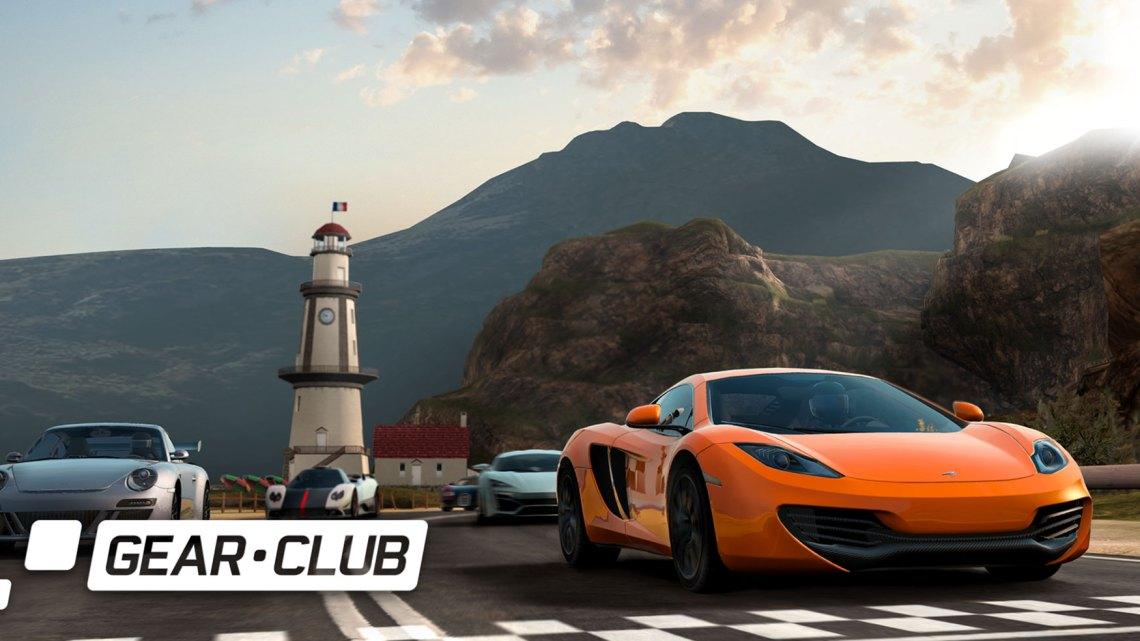 La Switch accueil Gear Club Unlimited