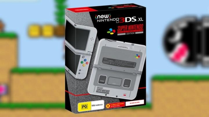 Présentation de la Nintendo New 3DS XL édition SNES