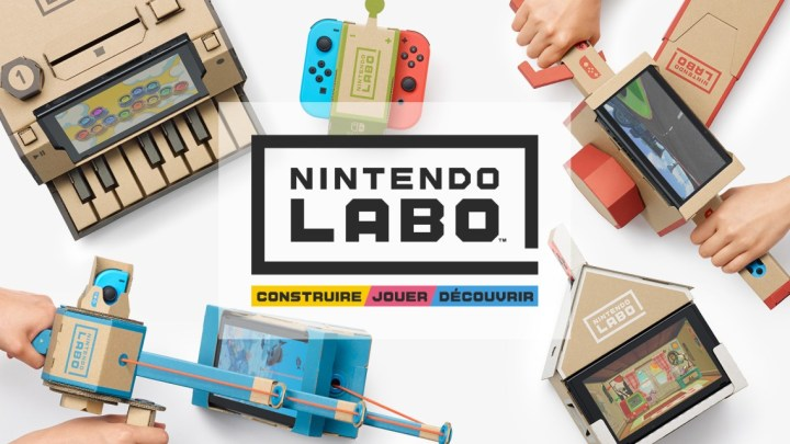 Nintendo Labo, ce n'est pas que du carton