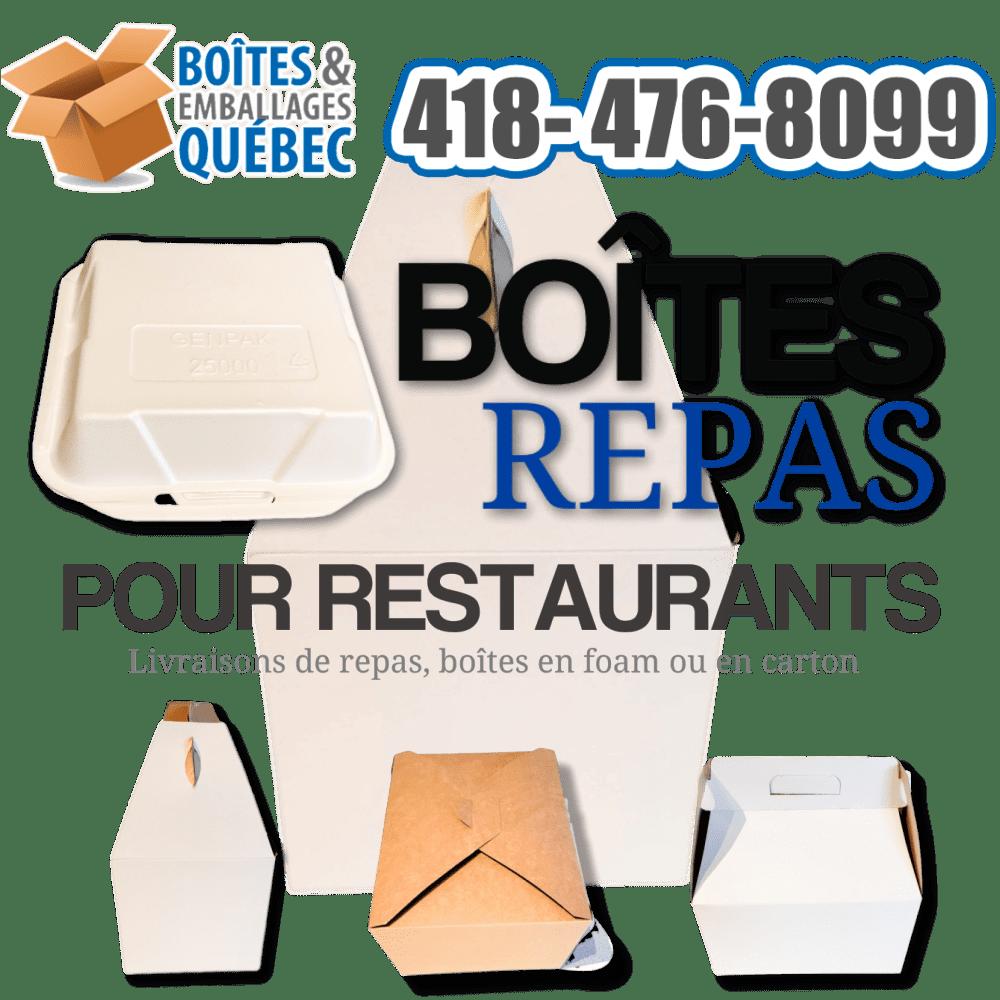 Boites repas et pour restaurants
