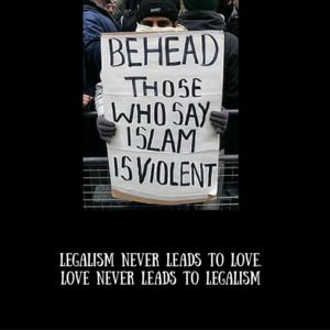 evil legalism kills