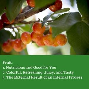 fruit within