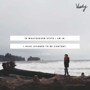 victorious contentment