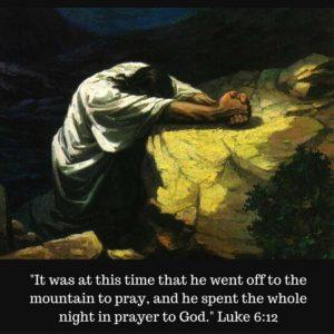 pray all night