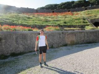 V Pompejskem amfiteatru