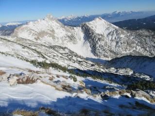 Mali Draški vrh in Viševnik
