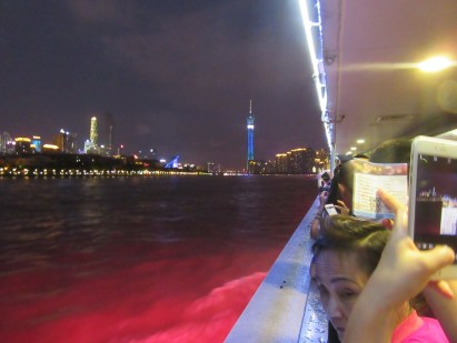 Canton tower from the boat