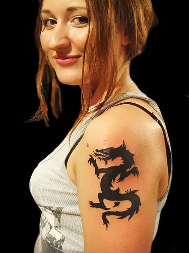 Girl Dragon Tattoos 21