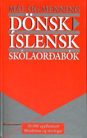 Dönsk Íslensk skólaorðabók framhlið