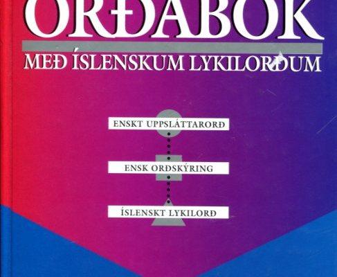 Ensk Ensk orðabók framhlið