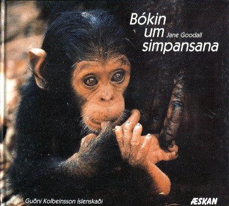Bókin um simpansana - Jane Goodall