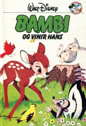 Bambi og vinir hans - Disneybók