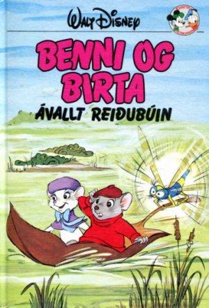 Benni og Birta ávallt reiðubúin - Disneybók