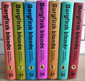 Borgfirzk blanda 7 bindi - Bragi Þórðarsón