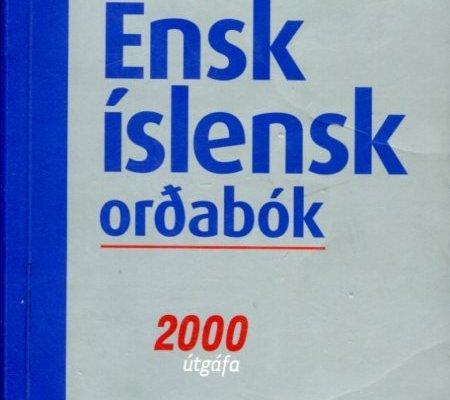 Ensk-íslensk _ Íslensk-ensk orðabók