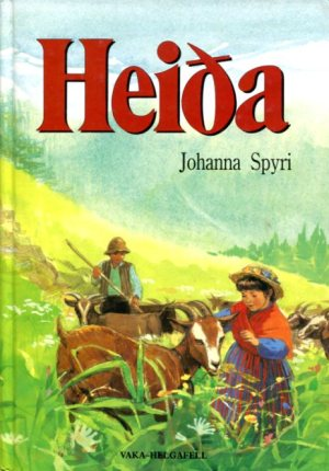 Heiða 1990 útgáfa - Johanna Spyri