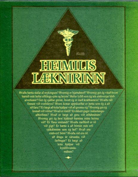 Heimilislæknirinn I-III bindi í öskju- Iðunn