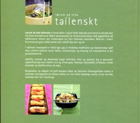 Lærum að elda taílenskt (bakhlið)